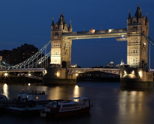 Uno de los puentes mas famosos de Londres, el Tower Bridge