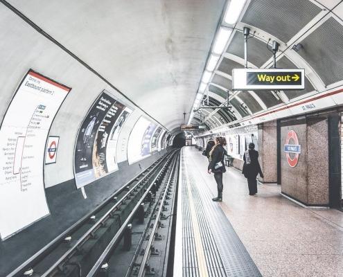 St Paul, una de las estaciones del metro de Londres