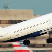 Aereo Air British in volo
