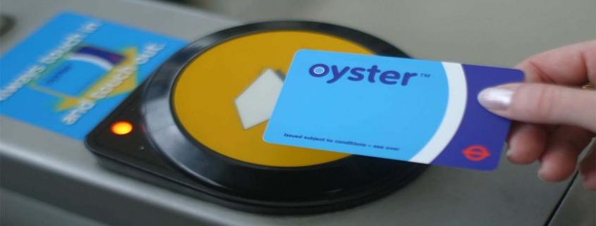 Oyster card, viaggiare a Londra