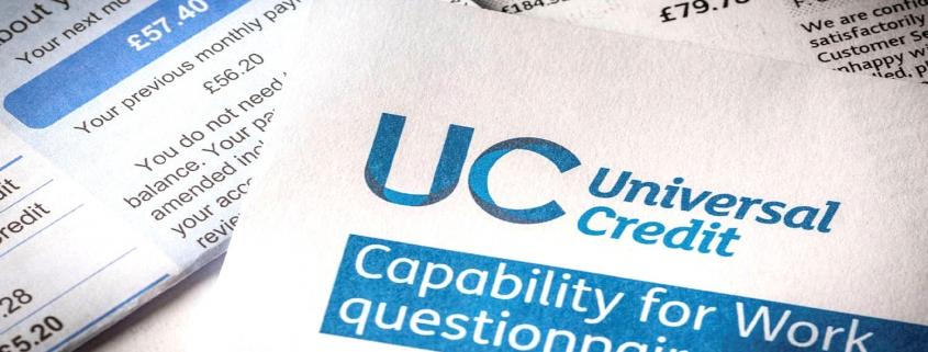 Universal Credit application